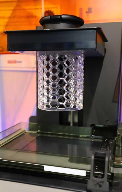 West Midlands 3D Printed Pattern