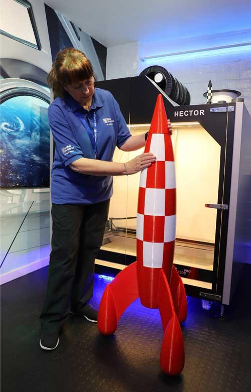 West Midlands 3D Printed Rocket