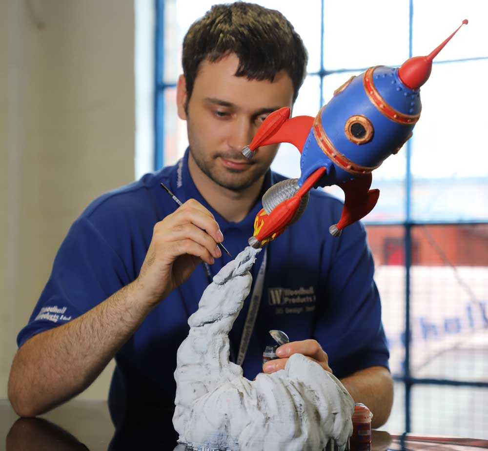 3D Printing in the West Midlands by Woodhall Products